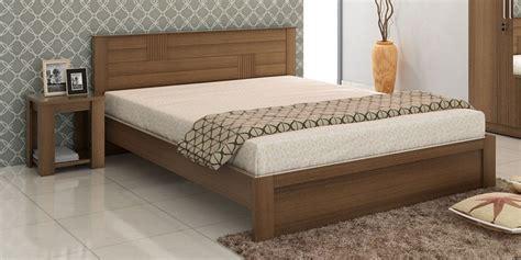 queen size beds buy subaru queen size bed with bedside table in bronze