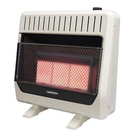 home depot heater fan reddy heater 26 000 30 000 btu infrared dual fuel wall