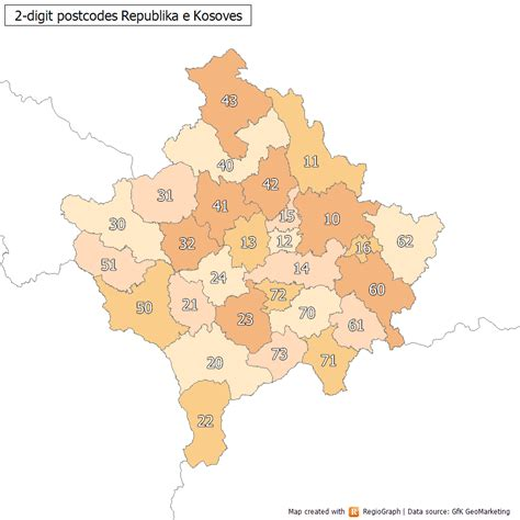 zip code map europe postal codes in kosovo wikipedia