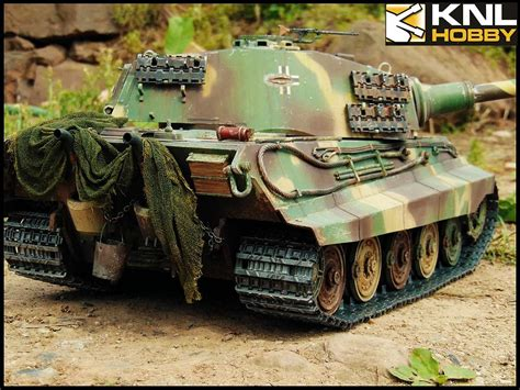 Tiger Camo germany king tiger tank camouflage green coating knl hobby
