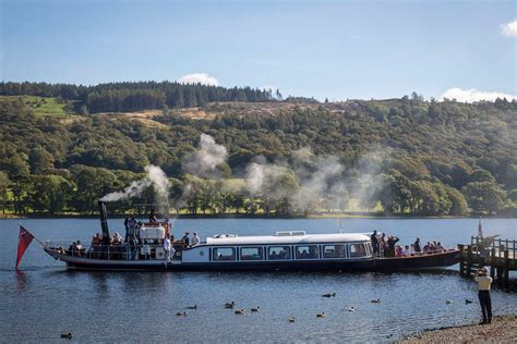 steam boat on coniston steam yacht gondola boat trips on coniston visit