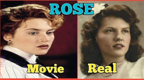 titanic film vs reality real vs movie rose real life titanic passengers and crew