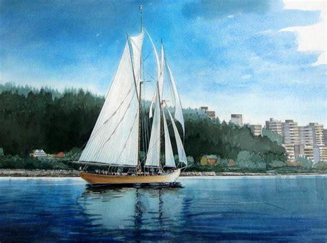 boat house english bay murray macdonald sail boat in english bay