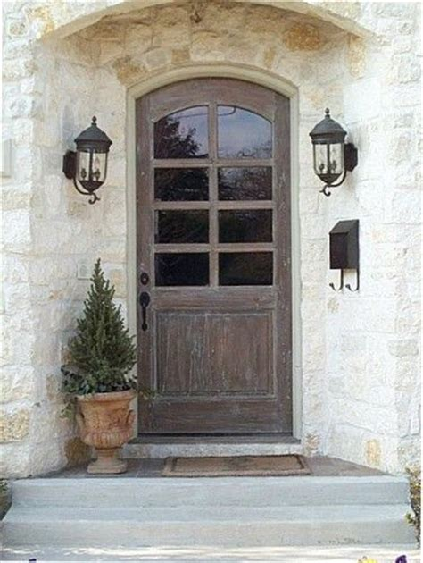 Country Front Doors Is Your Front Door Wood Could You Scrape The Paint And Refinish It In A Wood Stain