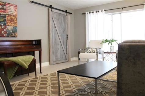 Contemporary Living Room Doors Ultramodern Barn Door Hardware Contemporary Living