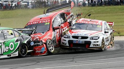 V8 Supercars driver James Courtney out of Sydney 500 with