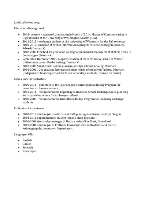 barista experience on resume resume ideas