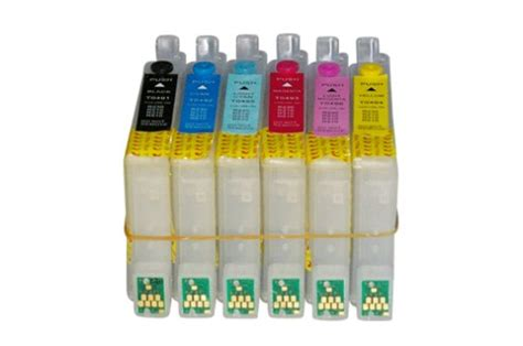 Tinta Epson R230 Infus Mini Infus Refillable Cartridge Isi Ulang