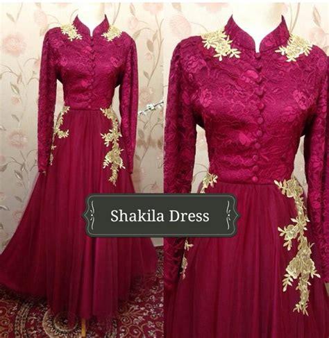 Gamis Azalea Dress By Butik shakila dress by alvaro galeri ayesha jual baju pesta