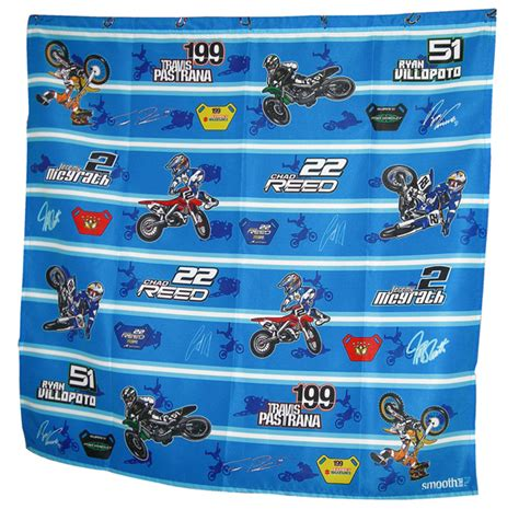 motocross curtains motocross cartoon shower curtain