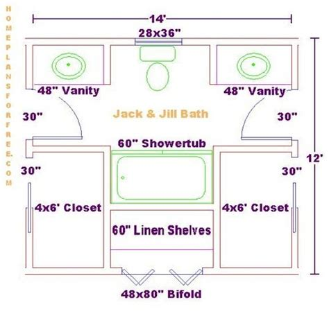 Jack And Jill Bathroom Floor Plans | the benefits of a jack and jill bathroom bob vila