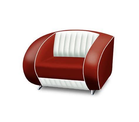 Kursi Sofa Retro Single Seat bel air retro furniture single seater sofa white back lawton imports
