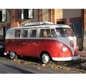Volkswagen Van On Freemages
