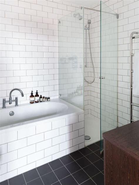 White Tile Bathroom Home Design Ideas, Pictures, Remodel