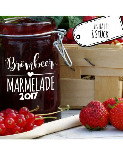 Etiketten Wm Marmelade by Aufkleber F 252 R Marmelade Etikett Marmeladenglas Brombeer