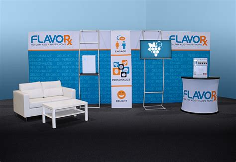 design booth inc flavorx booth liberty grove graphics