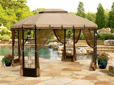 garden oasis curved pergola gazebos and canopies oasis trellis gazebo 10 x 10