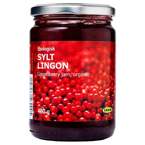 Jam Ikea lingonberry or cranberry jam recipe dishmaps