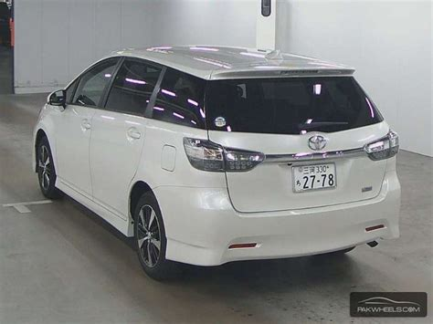 toyota wish 1 8 x aero sports package limited 2012 for