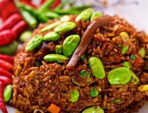 membuat nasi goreng pete resep nasi goreng petai spesial mudah praktis resep harian