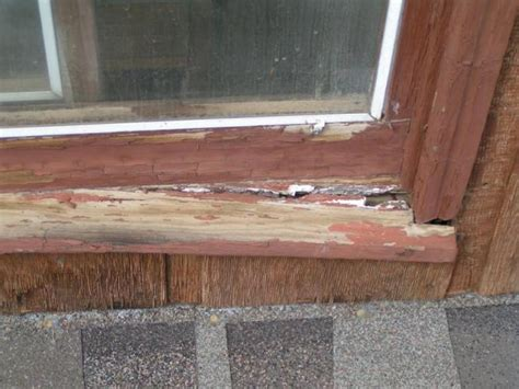Exterior Window Sill Repair Window Sill Deteriorating At A Co Home Aaron S