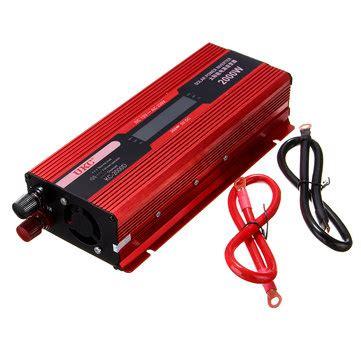 Sale Jual Power Inventer Dc 12v To Ac 220v Tbe 3000 Watt lcd digital display 2000w car power inverter dc 12v to ac 220v adapter converter sale banggood