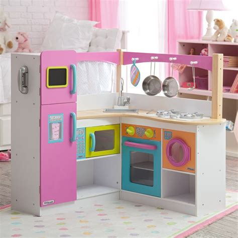 kidkraft big bright grand gourmet corner kitchen www