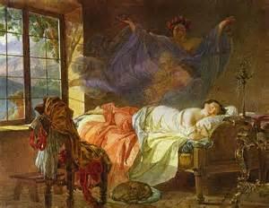 paint dream karl briullov 19th century neoclassicism artist imminent