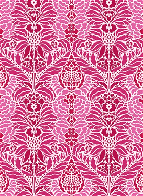 pattern roller india indian floral damask stencil henny donovan motif