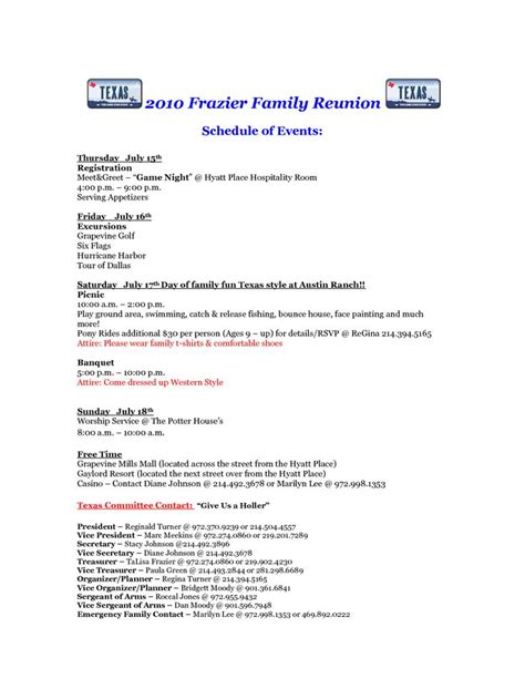 family reunion letter template 62 best images about reunion registration on