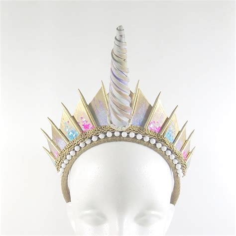 Handmade Crown - handmade studded crowns are an actual thing