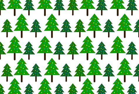 christmas trees pattern background free stock photo