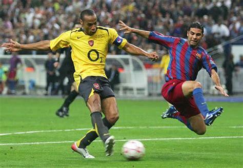 arsenal barcelona 2006 barcelona striker thierry henry i ll be an arsenal fan