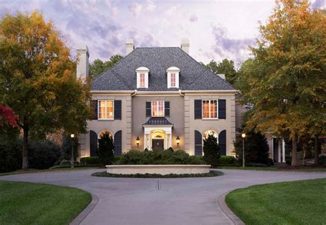 European Style Houses by French House Styles Amp Design