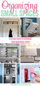 Organizing Small Spaces by Organizing Small Spaces I Heart Planners