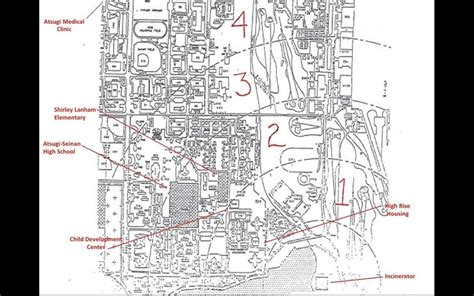naf atsugi housing floor plans atsugi japan naval base map middle east map