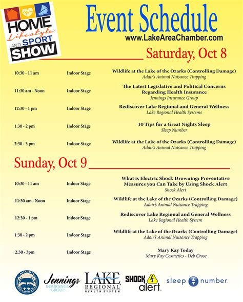 chicago boat show schedule new home lifestyle sport show coming to the lodge of