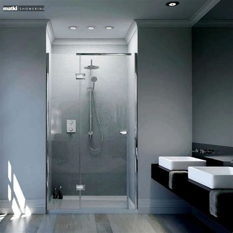 Shower Tray And Door Matki New Illusion Recess Shower Door With Tray Uk Bathrooms