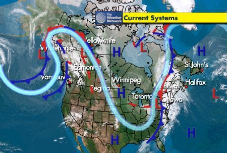 map usa jetstreams weather jet science notes
