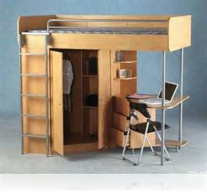 Bookshelf With Chair Built In Wooden Loft Bed With Desk Most Recommended Space