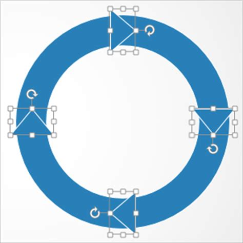 How To Create A Cyclic Arrow Diagram In Powerpoint Powerpoint Tips And Tutorials Powerpoint Circular Arrow