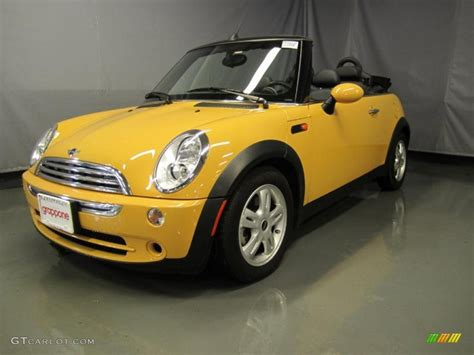 Mini Cooper Yellow by 2008 Mellow Yellow Mini Cooper Convertible 37699609 Photo