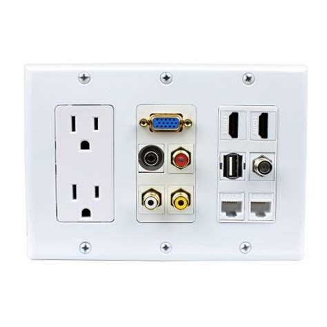 How To Install A Fireplace Insert by Best 25 Hdmi Outlet Ideas On Pinterest Recessed Outlets