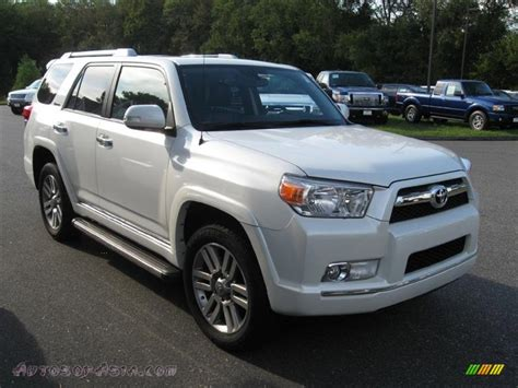 2010 Toyota 4runner Limited For Sale 2010 Toyota 4runner Limited 4x4 In Blizzard White Pearl