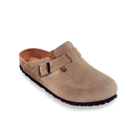 birkenstock clogs for birkenstock boston soft footbed clogs in brown for