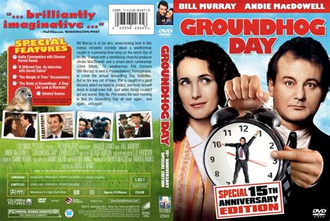 groundhog day dvd groundhog day dvd scanned covers groundhogday