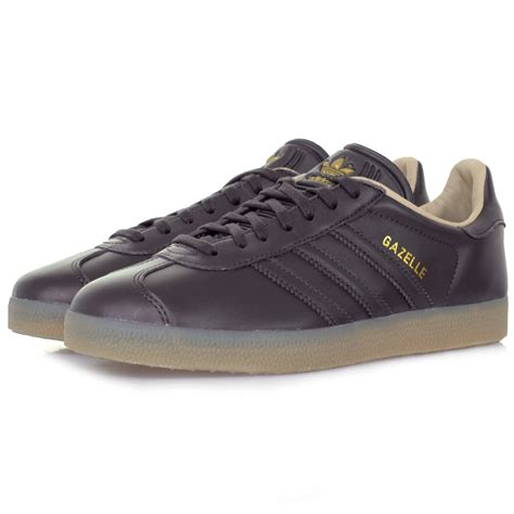 adidas leather shoes adidas gazelle online dark grey leather shoe