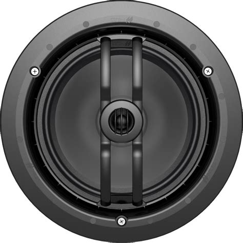 Black In Ceiling Speakers by Niles Cm7sd 7 Quot 2 Way In Ceiling Speaker Black Each W White
