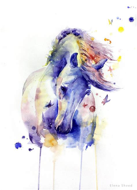 watercolor tattoo horse best 25 watercolor ideas only on