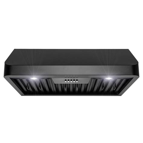 black stainless under cabinet range hood under cabinet range hoods black stainless steel imanisr com